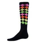 Zany Jewels Softball Socks-crazy,zany,fun,wild,krazy softball socks