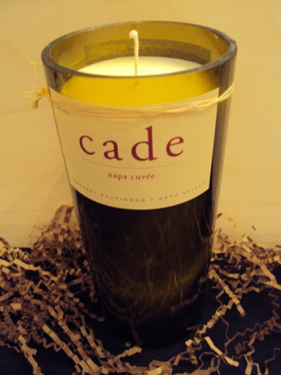 Candle-Cade Napa Cuvee – Birthday Cake-Wine Bottle Hand Crafted Candles