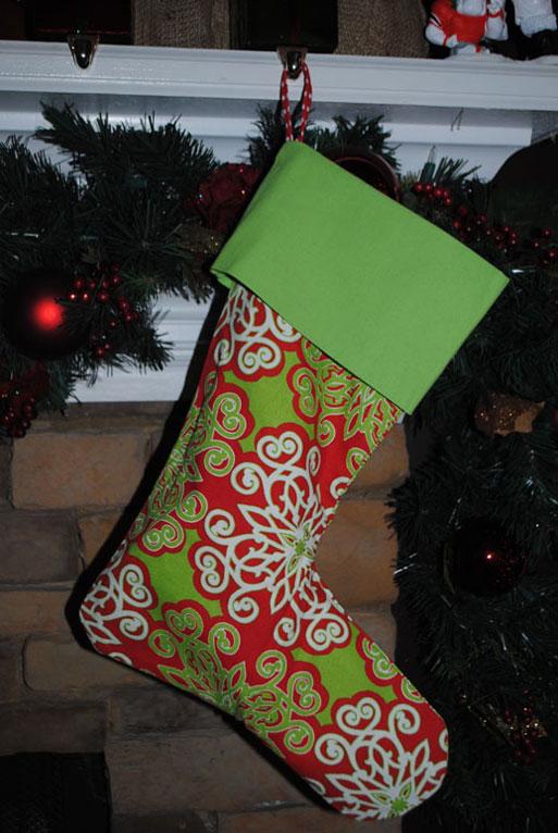 Holiday Stockings-Monogrammed Holiday Stockings