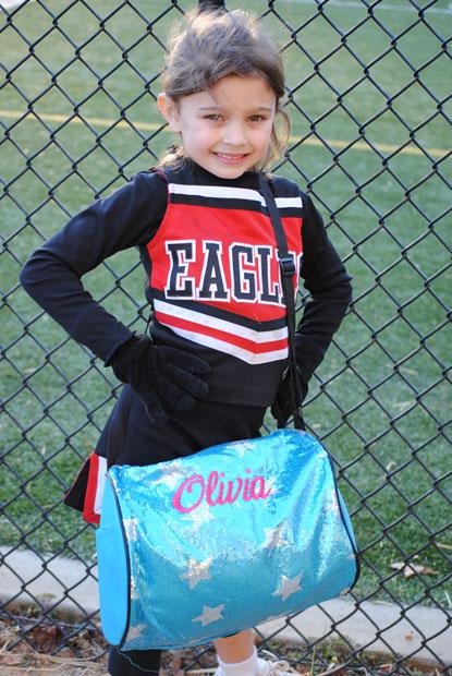 Sequin Cheer/Dance Bag-Sequin Cheer competition bag, sequin dance bag monogrammed dance bag, monogrammed cheer competition bag