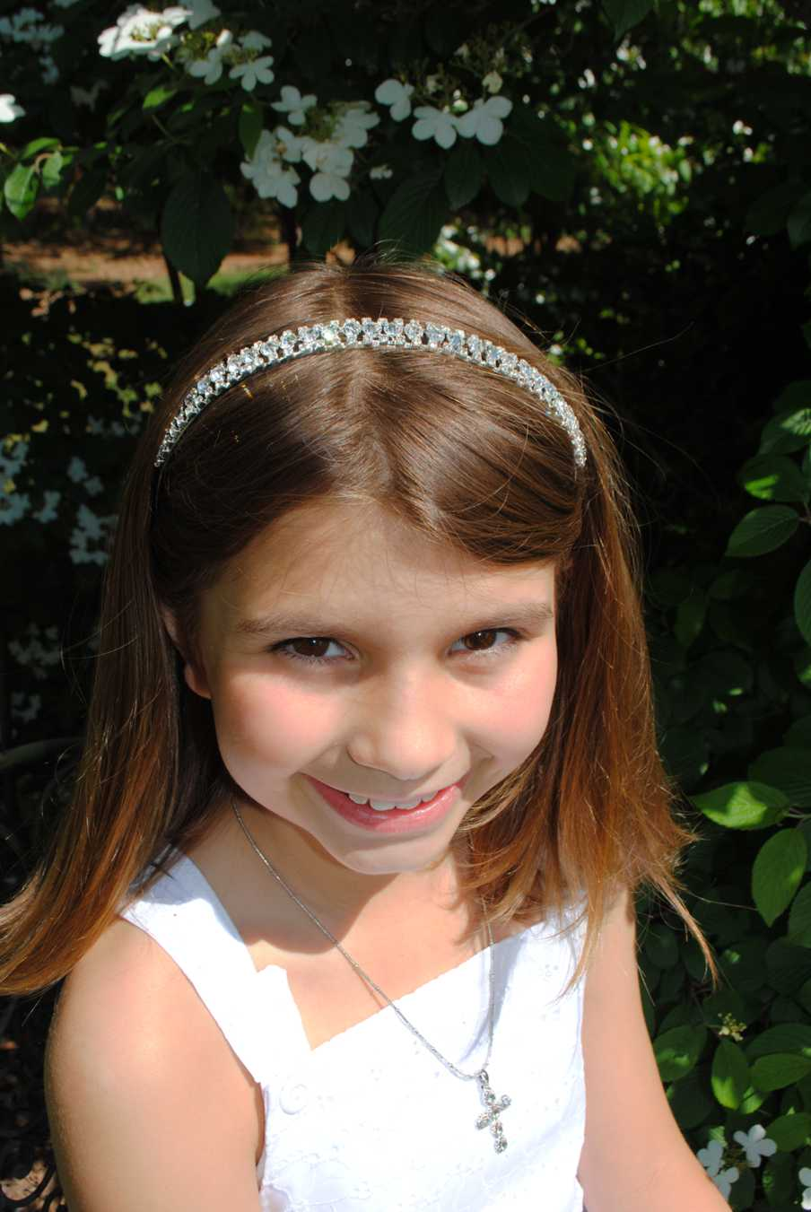 Rhinestone Fashion Head Band-Rhinestone Design Head Band, first communion headbands rhinestone, flower girl rhinestone headbands