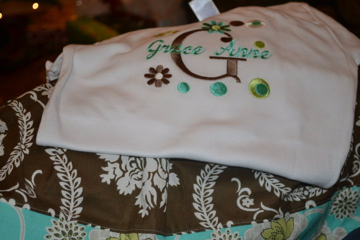 Embroidered T-shirts-Embroidered T-shirt, Holiday applique shirts, Personalized T-shirts