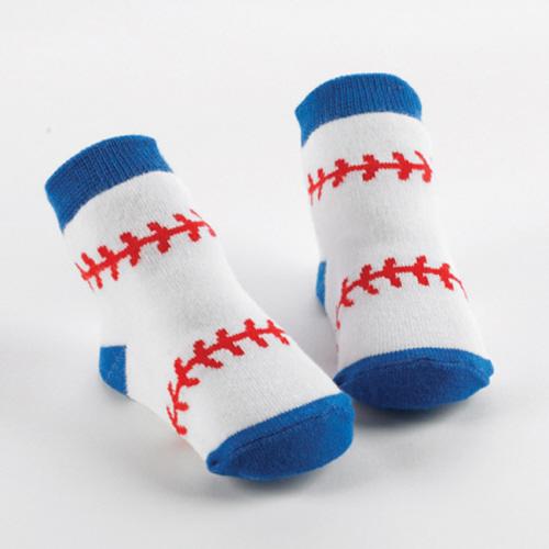Baseball Socks by Mud Pie-mud pie baseball socks