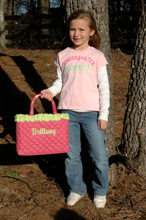 Quilted Tote-monogrammed, quilted, tote, bag