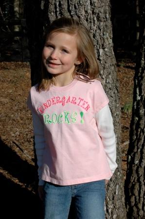 Kindergarten Rocks T Shirt-kindergarten, rocks, Tshirt, gifts, school, embroidered