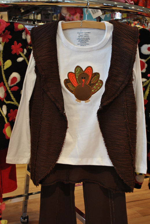 Thanksgiving Tees-Embroidered T-shirt, Holiday applique shirts, Personalized T-shirts, custom made coutique tees