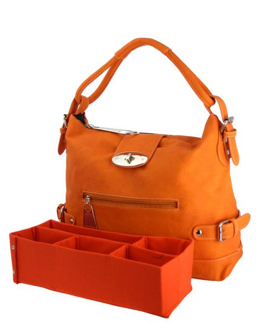 Handbag- Lauren  with organizer-Couture handbag