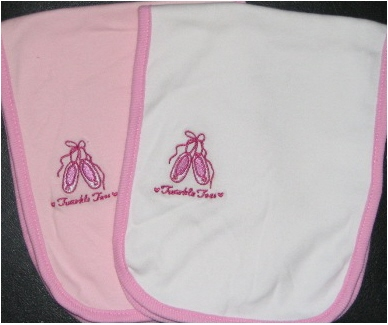 Burp Cloth- Ballet-Great Baby Gift, Personalized burp cloth