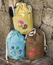Natural Life Ditty Bag-Natural Life Ditty bag Boho Peace be happy be free peace love happiness