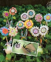 Flower Pen- Natural Life-Funky Flower pens natural life
