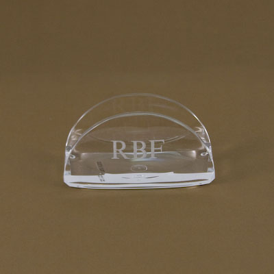 Business Card Display-business card display holder engraved acrylic gift items fathers day