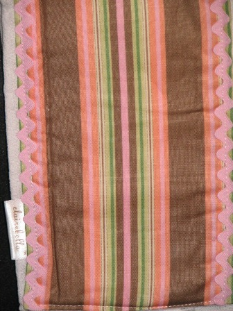 Burp Cloth- Clairebella Stripe-Posh baby gift!,Monogrammed burp cloth