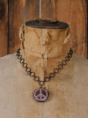 Necklace- Peace Locket-Peace locket natural life
