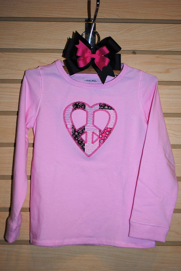 Valentine's Tees-Embroidered T-shirt, Holiday applique shirts, Personalized T-shirts, custom made coutique tees, Valentine's Day Shirts