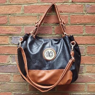 Alaina Handbag monogrammed-monogrammed handbag, personalized handbag, personalized purse, monogrammed purse