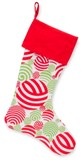 Holiday Stockings-Balls-Monogrammed Holiday Stockings