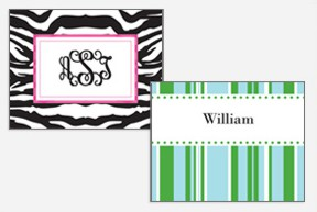 Personalized Notecards-personalized note cards, monogrammed thank you note, monogrammed stationary, personalized stationary
