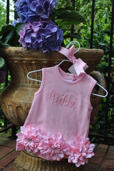 Mud Pie Pink Shift Dress-Pink Shift Dress by Mud Pie, monogrammed, boutique, monogrammed baby gifts, personalized