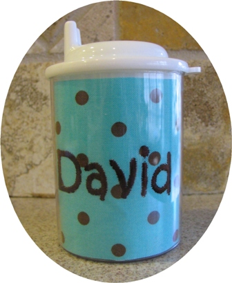 Sippy Cup-monogrammed, sippy, cup, first, birthday, gift