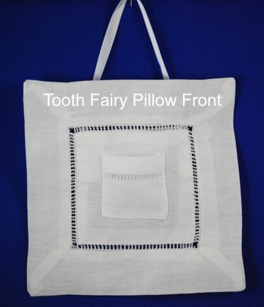 Tooth Fairy Pillow-Monogrammed Tooth Fairy Pillow